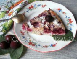 Миниатюра к статье Простой пп пирог с вишней или овсяный клафути: удовольствие без ограничений…