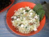 Миниатюра к статье Оригинальный салат с молодой капустой: простой, вкусный и сытный