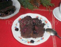 Миниатюра к статье Шоколадный кекс с вишней: вкусная шоколадная выпечка вместо торта