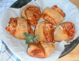 Миниатюра к статье Сырные булочки без дрожжей с томатным соусом: несладкая выпечка для тонкой талии :)