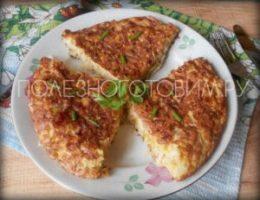 Миниатюра к статье Капустная запеканка на сковороде: быстрый рецепт диетической выпечки