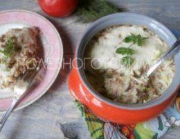 Миниатюра к статье Запеканка с кабачком и гречкой под нежной сырной корочкой: мега вкусно и полезно :)